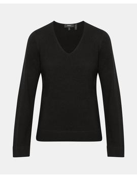 Cashmere V Neck Pullover by Theory