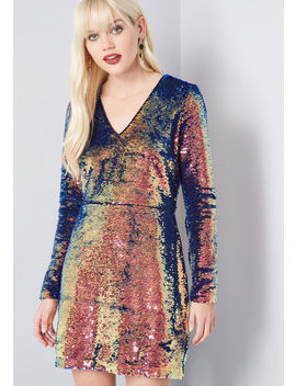 Shining Showstopper Sequin Dress by Modcloth