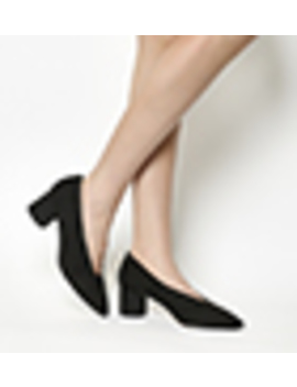 Majesty Cylindrical Block Heel Point Court by Office