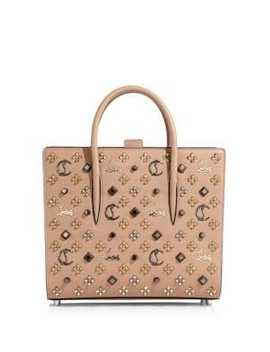 Paloma Medium Leather Tote by Christian Louboutin