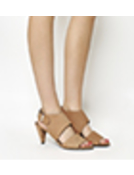 Minimal Two Strip Cone Heels by Office