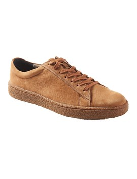 Donevin Suede Crepe Sole Sneaker by Banana Repbulic