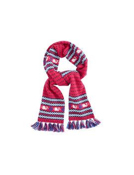 Girls Fairisle Knit Scarf by Vineyard Vines