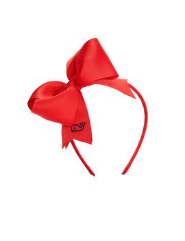 Girls Solid Grosgrain Bow Headband by Vineyard Vines