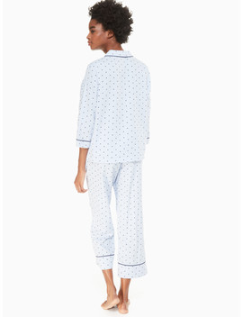 Sateen Long Pj Set by Kate Spade