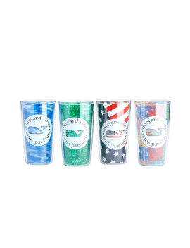 Tailgate Tervis Tumblers (Set Of 4) by Vineyard Vines