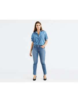 Classic Straight Fit Jeans by Levi's