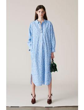 Sage Shirt Dress by Ganni