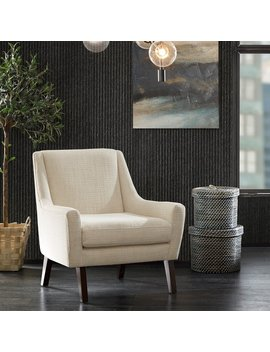 Ink+Ivy Scott Cream Morocco Lounge Chair by Ink And Ivy