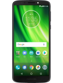 Moto G6 Play With 16 Gb Memory Prepaid Cell Phone   Deep Indigo by Virgin Mobile