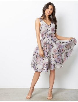Floral Midi Dress by Closet