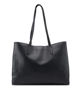 Italian Leather East West Tote Bag by Banana Republic