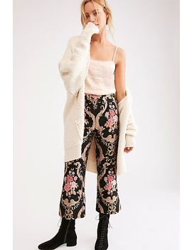 Brocade Flared Pant by Free People