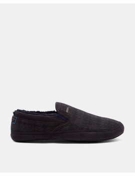 Faux Fur Lined Slippers by Ted Baker