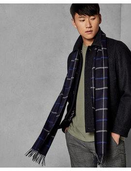 Checked Scarf by Ted Baker