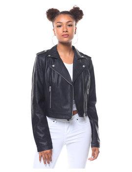 Cropped Moto Jacket by Fashion Lab