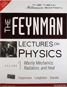 The Feynman Lectures On Physics: Mainly Mechanics, Radiation And Heat   Vol. 1 by Amazon