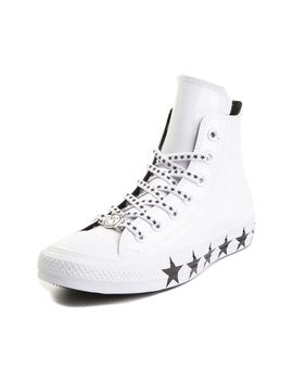 Womens Converse X Miley Cyrus Chuck Taylor All Star Hi Patent Sneaker by Converse
