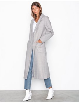 Bar Back Maxi Coat by New Look