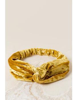 Nya Velvet Knot Headwrap by Francesca's