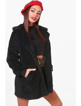 Faux Fur Teddy Coat by Boohoo