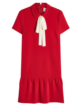 Dress With Bow by Red Valentino