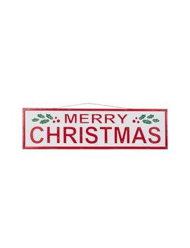 Enamel Merry Christmas Wall Sign By Ashland® by Ashland