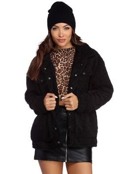 Trendy Teddy Bear Jacket by Windsor