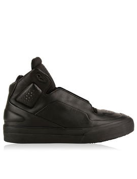 Perforated High Top Trainers by Maison Margiela