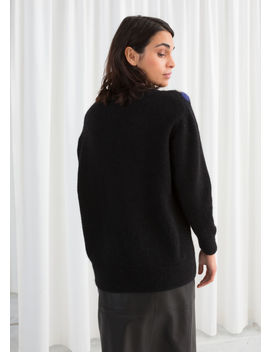 Oversized Dotted Sweater by & Other Stories
