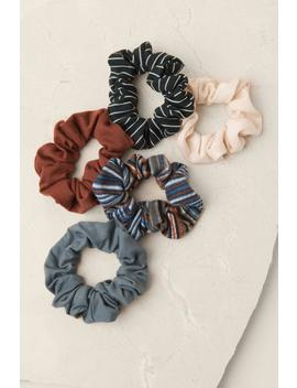 Dixie Striped Scrunchie Set by Francesca's