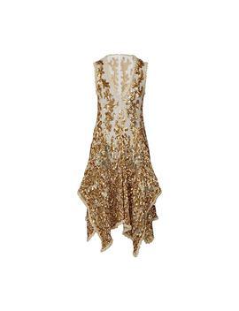 Floral Motif Lace Dress by Louis Vuitton
