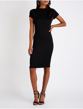 Midi Bodycon Dress by Charlotte Russe