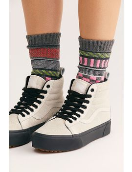 Mix &Amp; Match Recycled Cotton Crew Sock by Free People