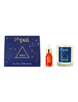 In Your Element Collection: Fire by Pai Skincare
