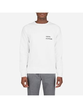 The 100% Human Unisex French Terry Sweatshirt In Small Print by Everlane