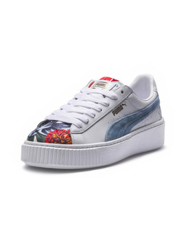 Platform Hyper Embroidered  Women's Sneakers by Puma