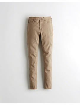 Classic Stretch High Rise Super Skinny Pants by Hollister