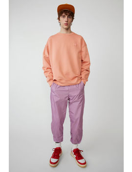 Oversized Sweatshirt Pale Pink by Acne Studios