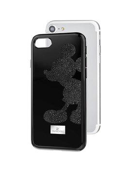 Mickey Body Smartphone Case With Integrated Bumper, I Phone® 8, Black by Swarovski