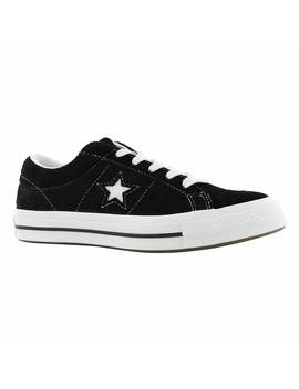 Women's One Star Black Fashion Sneakers by Converse