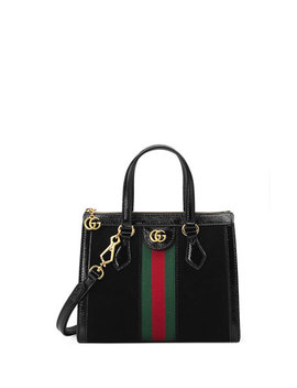 Ophidia Small Suede Tote Bag by Gucci