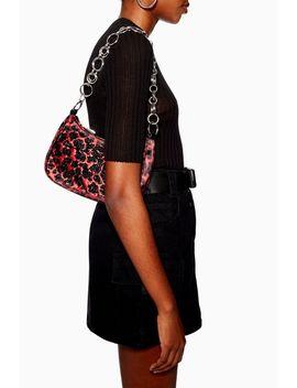 Lana Leopard Print Diamante Shoulder Bag by Topshop