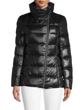 Asymmetric Packable Jacket by Saks Fifth Avenue