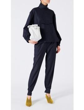 Tweed Stripe Pull On Pants by Tibi