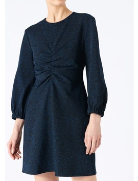 Eclipse Pique Ruched Dress by Tibi