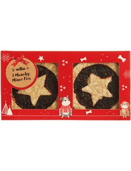 Wilko Christmas Munchy Mince Pies For Dogs 2pk Wilko Christmas Munchy Mince Pies For Dogs 2pk by Wilko