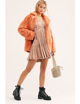 100 Degrees Of Shine Mini Dress by Free People
