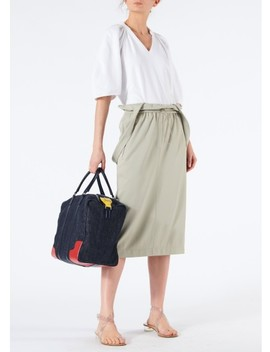 Astor Knit Skirt With Detachable Shoulder Straps by Tibi