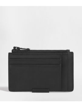 Astor Leather Zip Cardholder by Allsaints